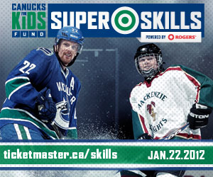 Vancouver Canucks Superskills Big Box Ad
